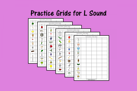 Practice Grids for L Sound