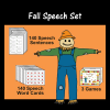 Fall Speech Set
