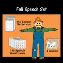 Fall Speech Set