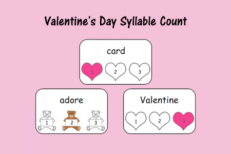 Valentine's Day Syllable Count