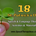18 St. Patrick's Day Therapy Activities And Materials