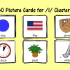 Picture Cards for /l/ Clusters