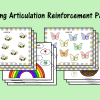 Spring Articulation Reinforcement Pages
