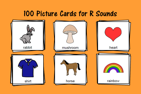 Picture Cards For R Sound