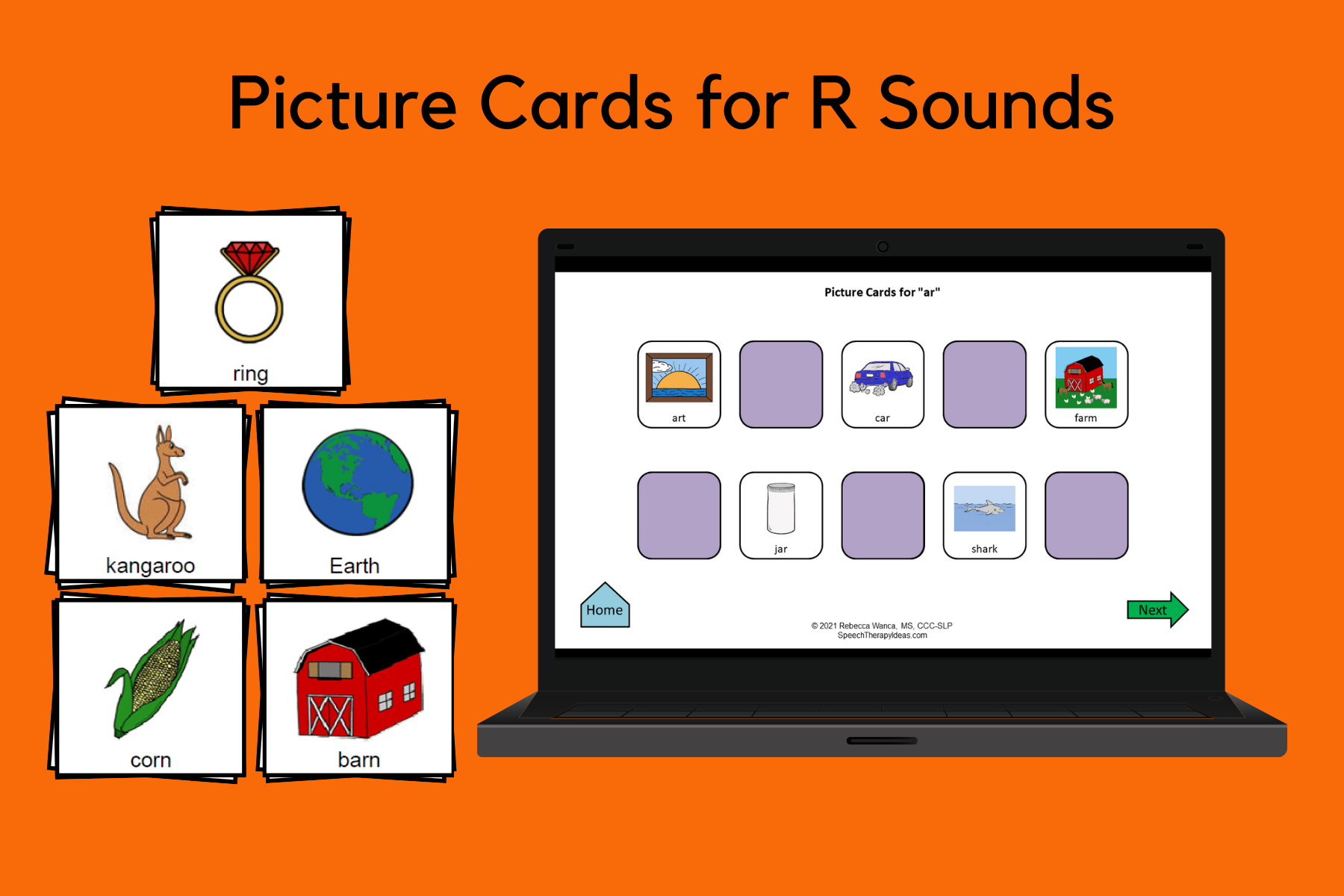 Picture Cards for R Sounds