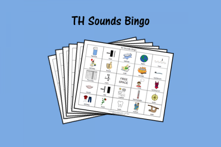 TH Sounds Bingo