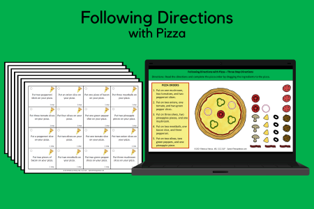 Following Directions with Pizza