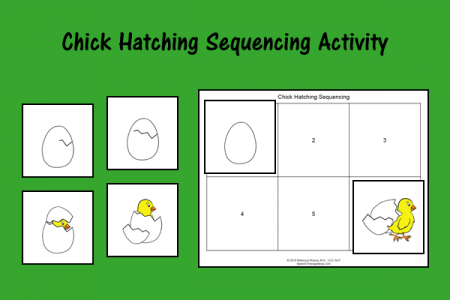 Chick Hatching Sequencing Activity