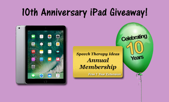 10th Anniversary Celebration – IPad Giveaway And One Year Membership Extension!