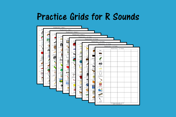 Practice Grids For R Sounds