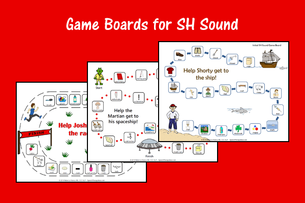Game Boards for SH Sound
