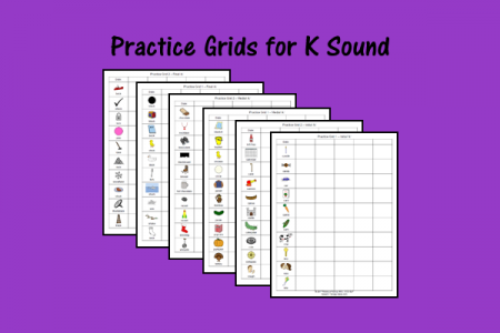 Practice Grids for K Sound