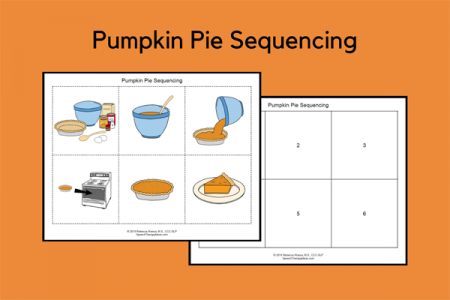 Pumpkin Pie Sequencing
