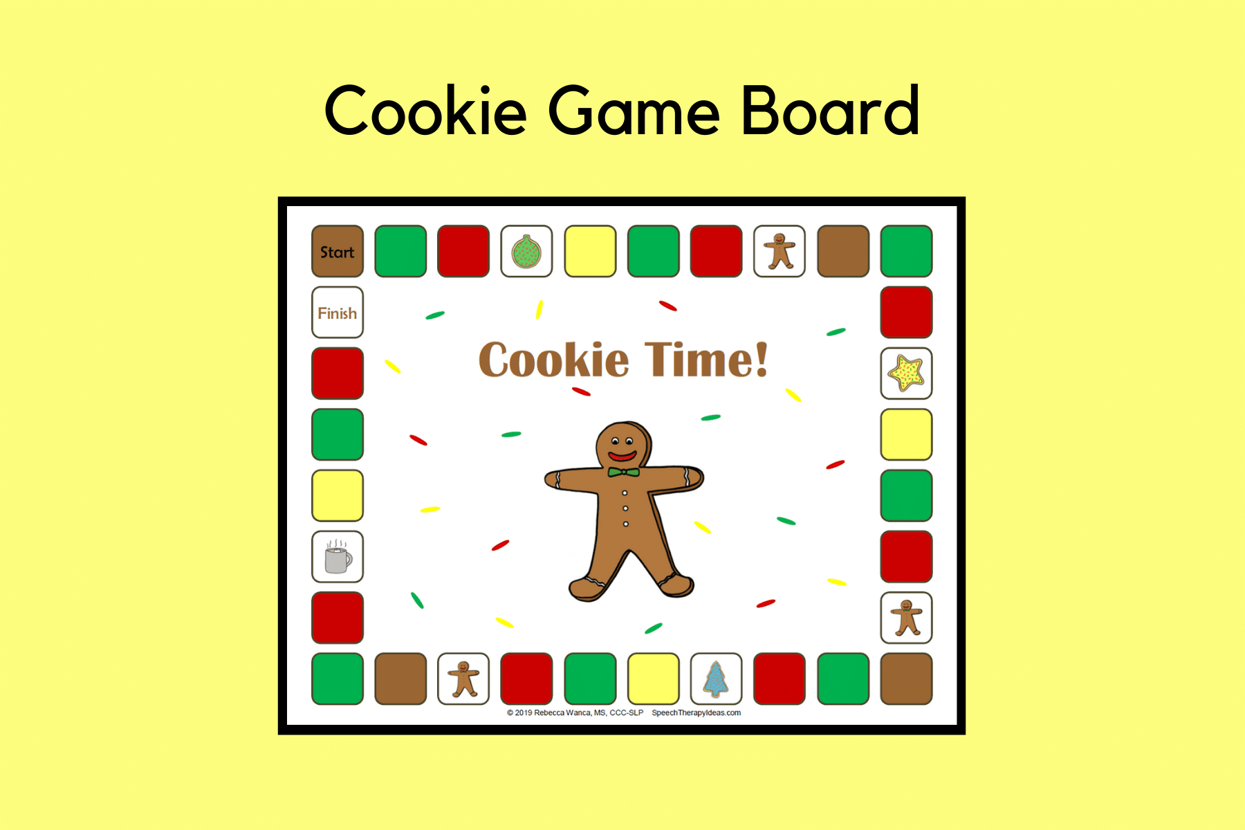 Cookie Game Board
