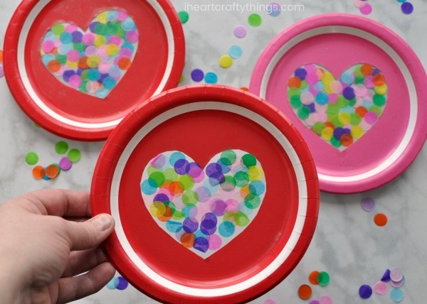 Heart Suncatcher Craft For Therapy