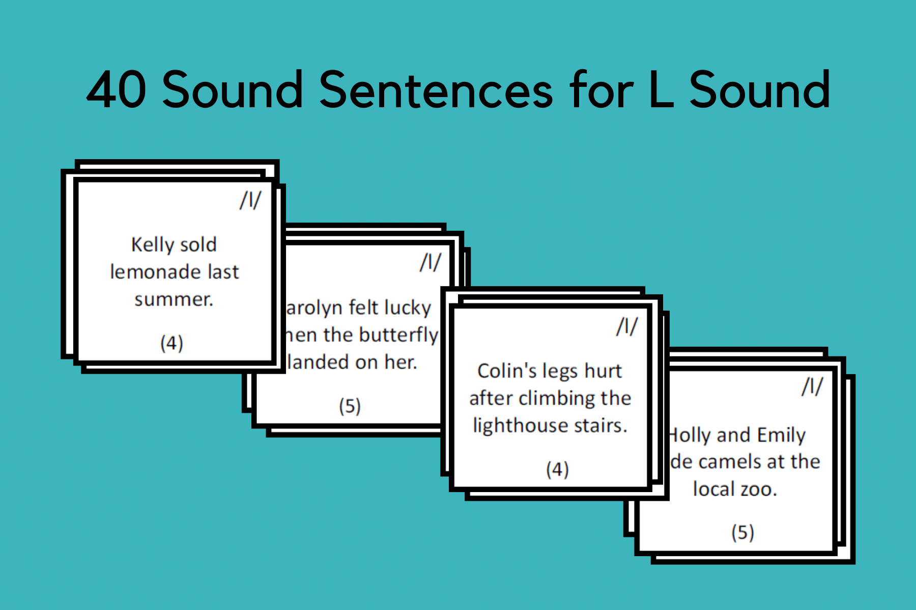 Sound Sentences For L Sound