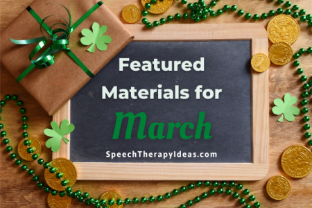 Featured Materials for March