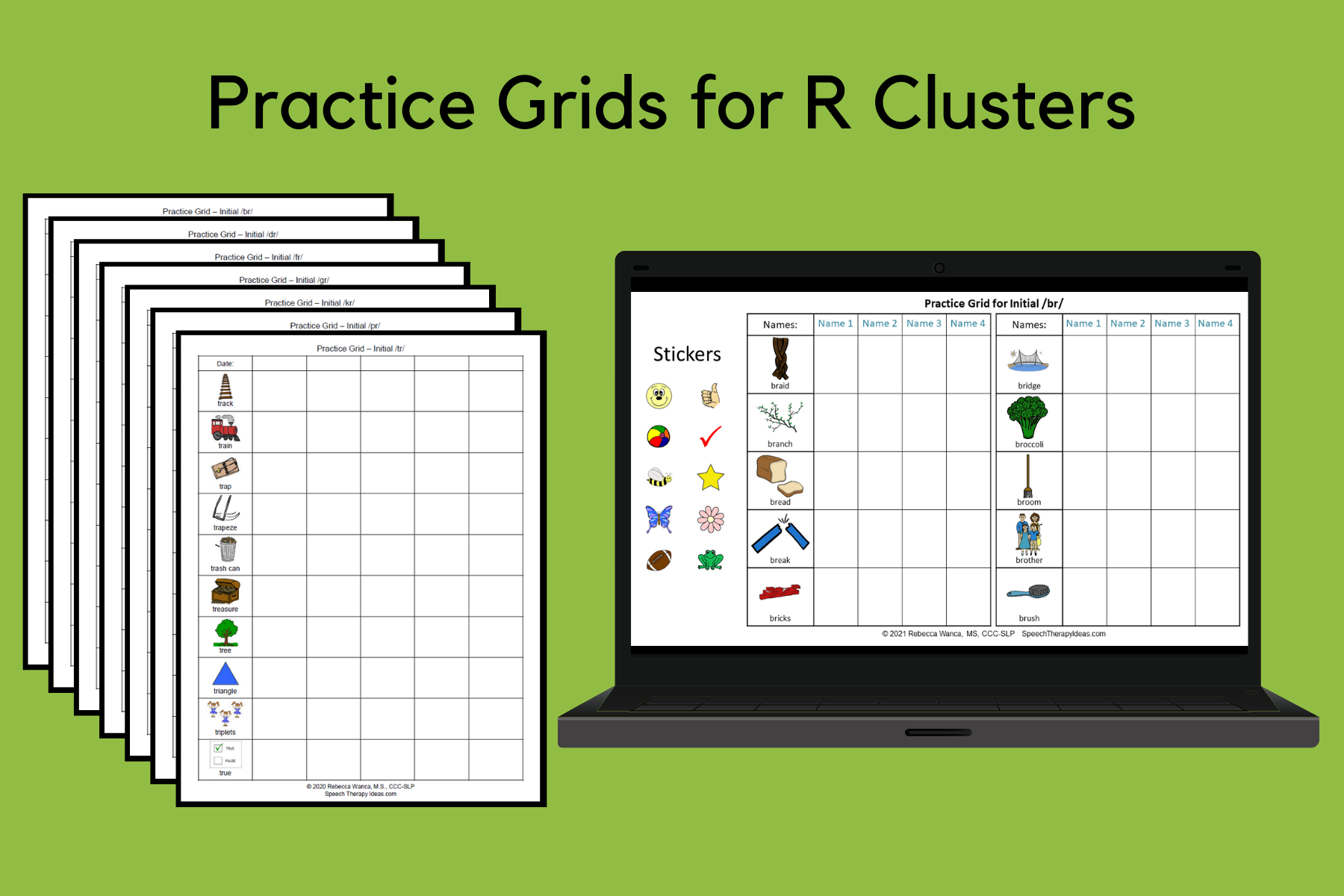Practice Grids For R Clusters