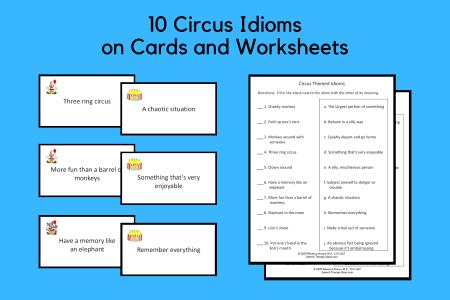 Circus Theme Idioms