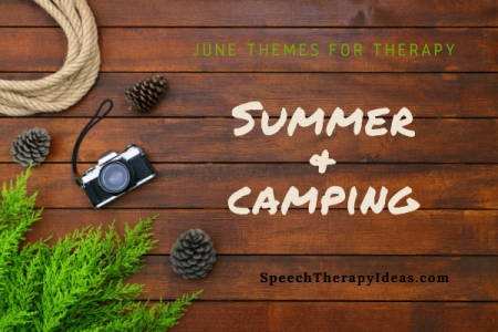 June Themes for Speech and Language Therapy
