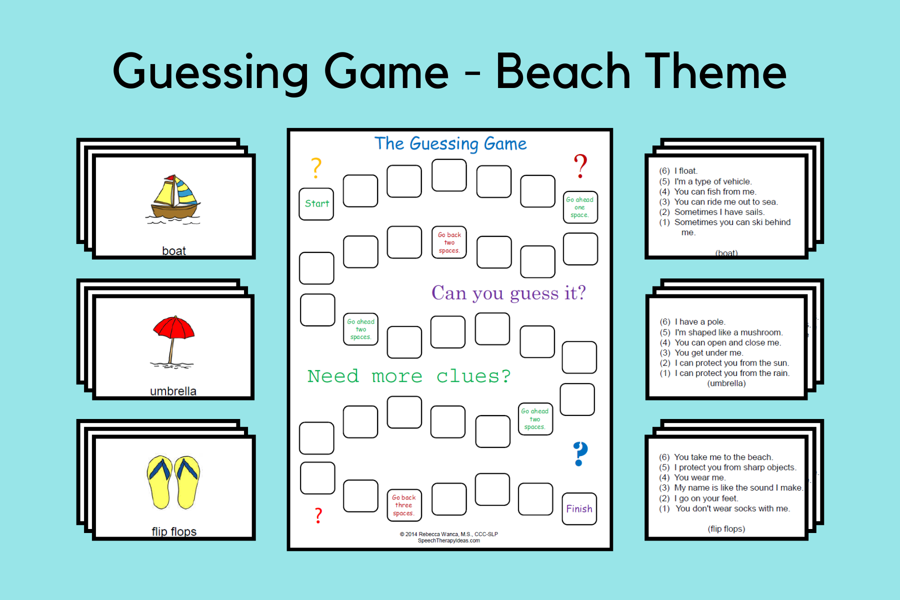 Guessing Game – Beach Theme