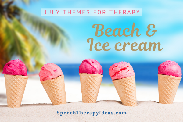 July Themes For Speech And Language Therapy