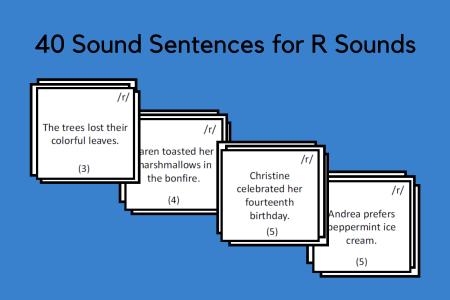 Sound Sentences for R Sounds