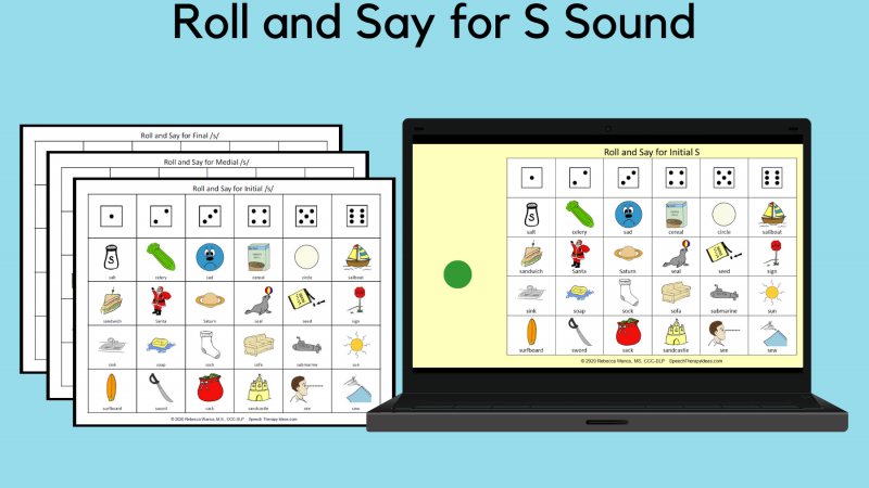 Roll And Say For S Sound