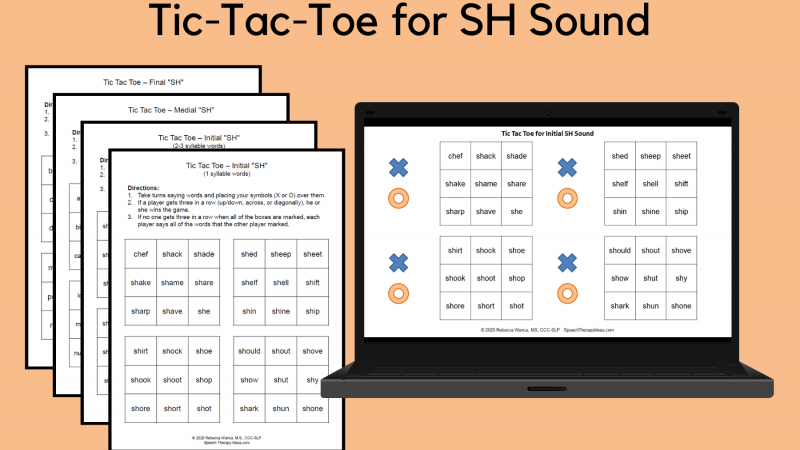 Tic Tac Toe For SH Sound