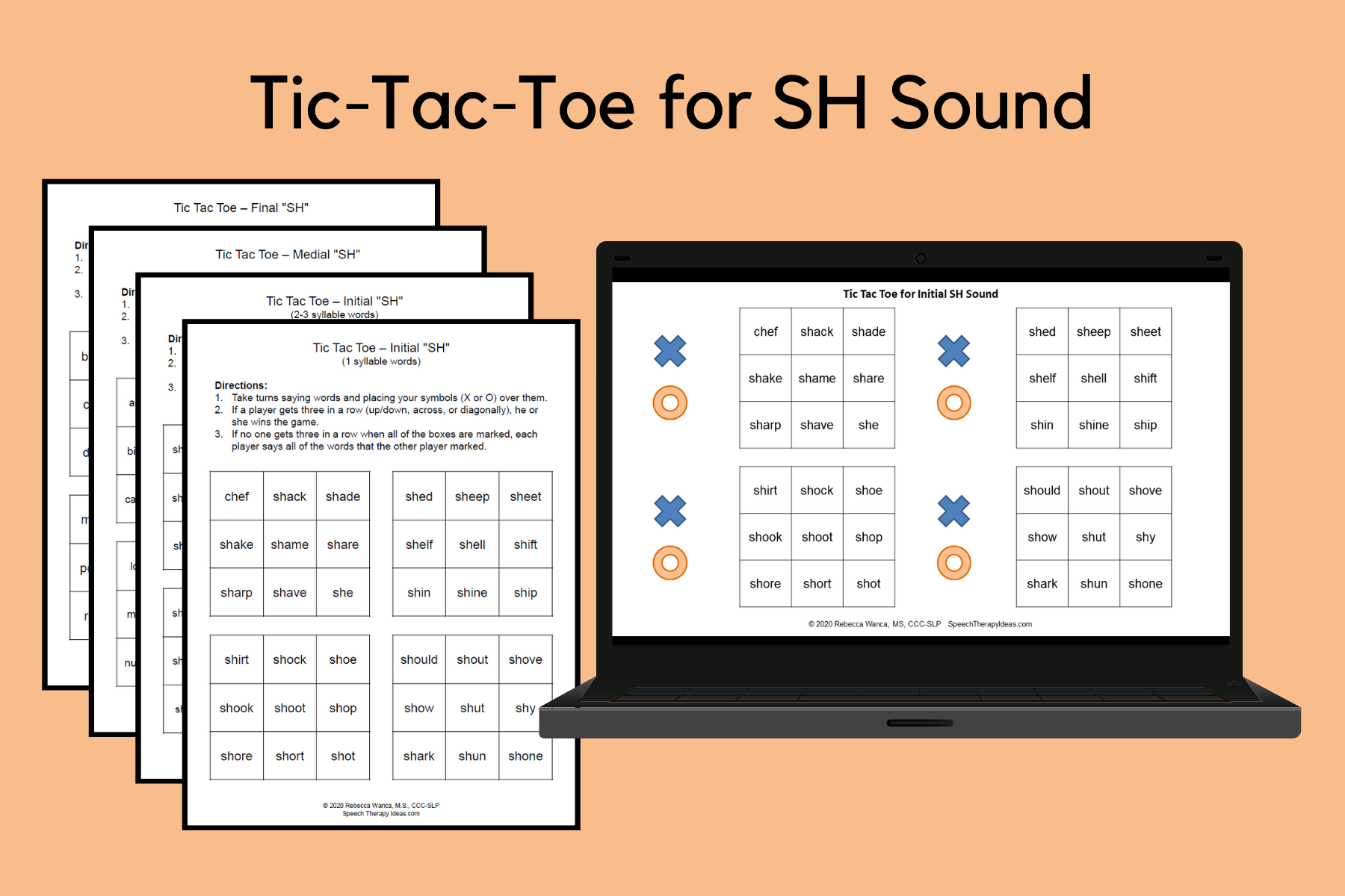 Tic-Tac-Toe Games For SH Sound