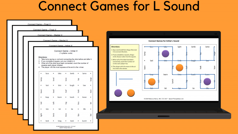 Connect Games For L Sound