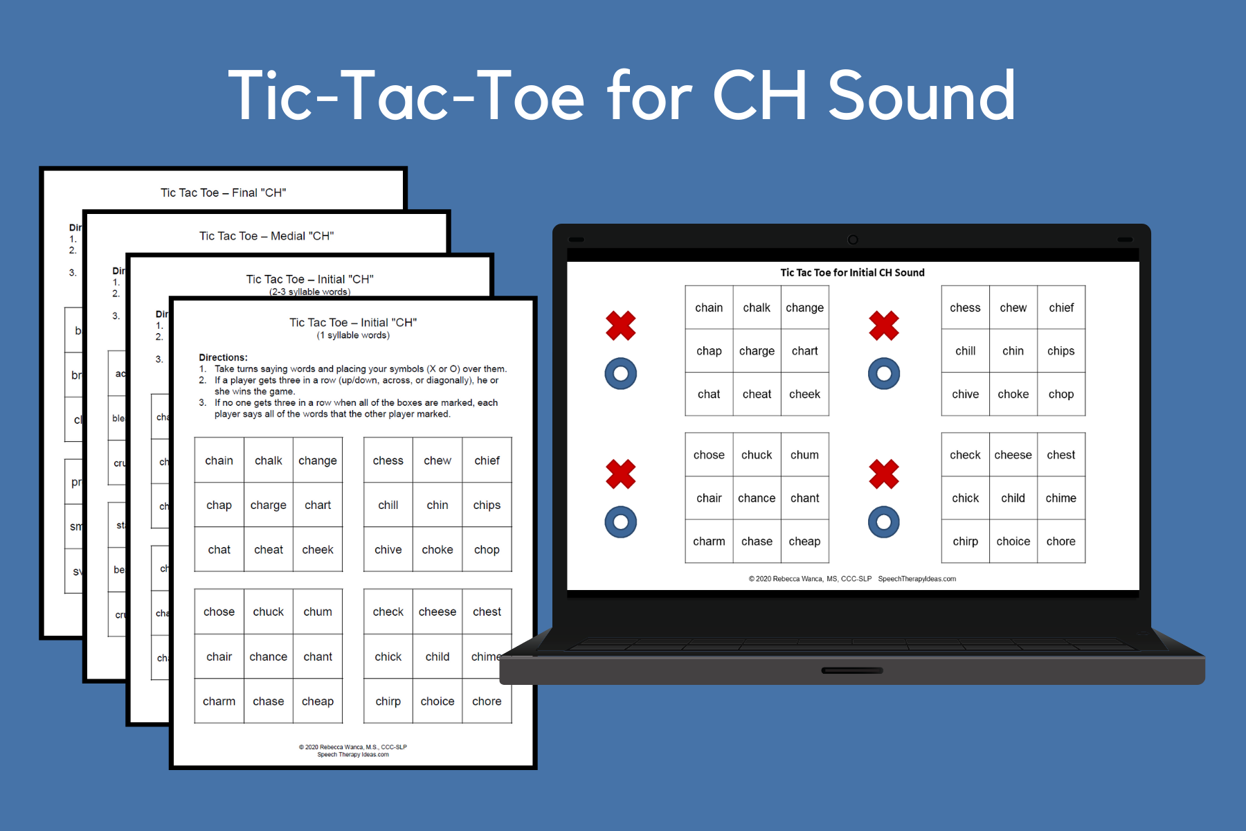 Tic-Tac-Toe Games For CH Sound