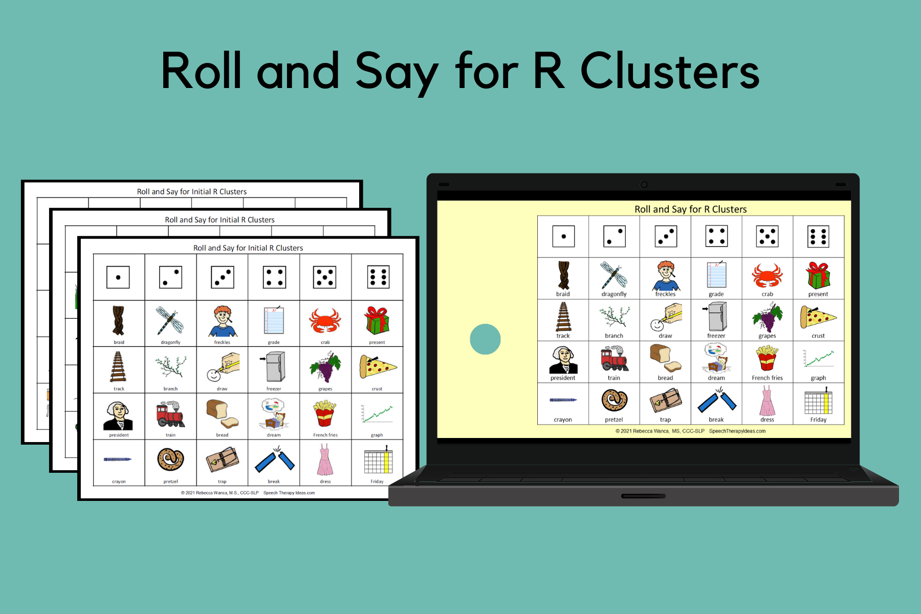 Roll and Say for R Clusters