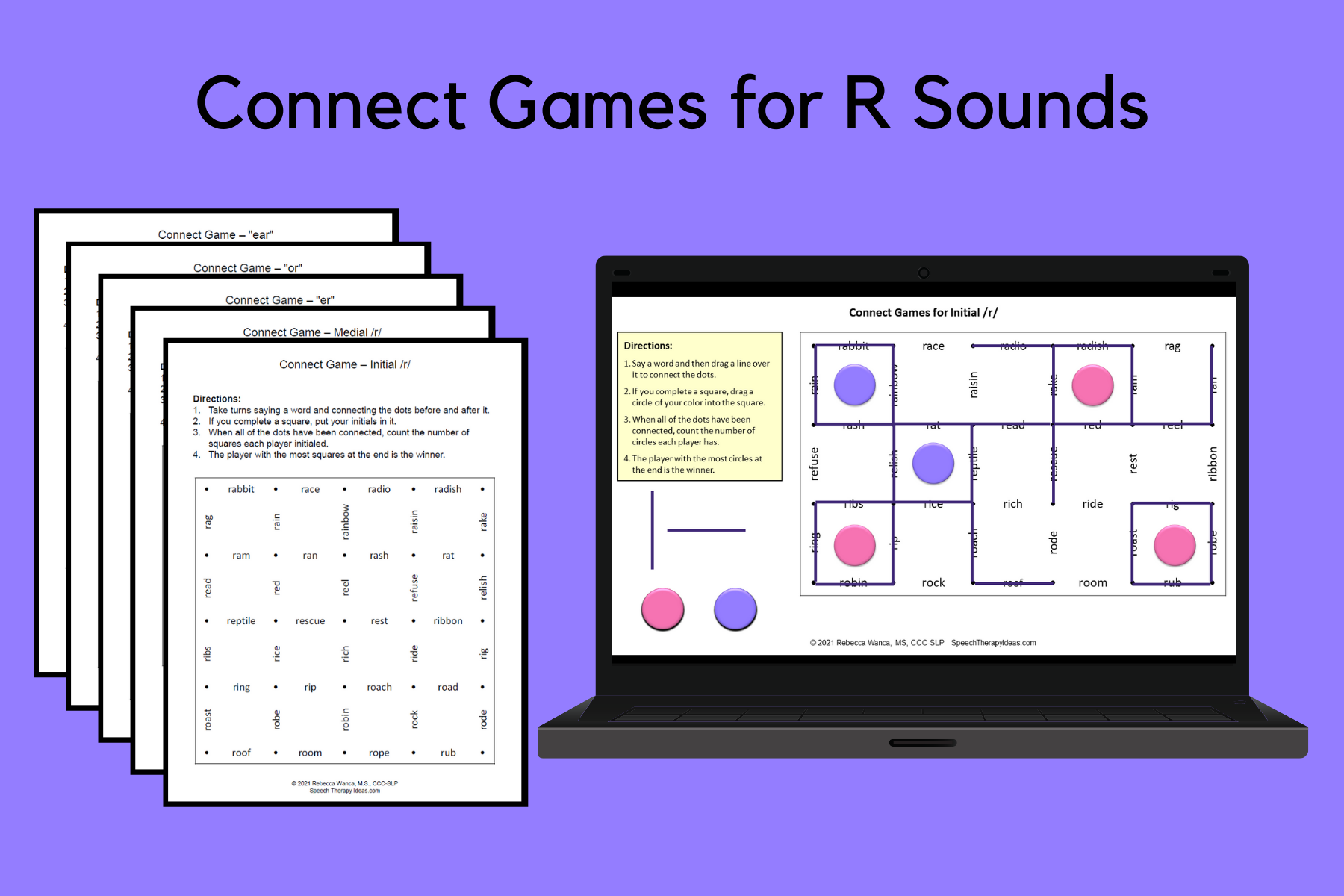 Connect Games For R Sounds