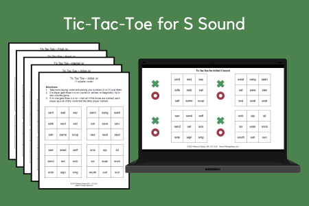 Tic-Tac-Toe for S Sound