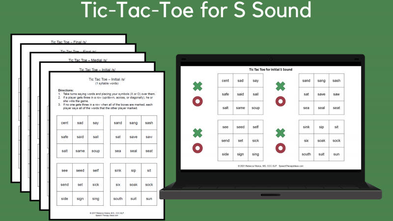 Tic Tac Toe For S Sound