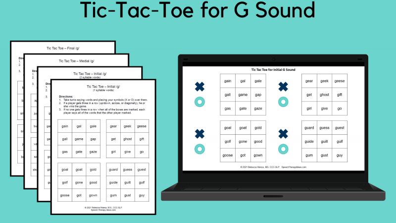 Tic Tac Toe For G Sound