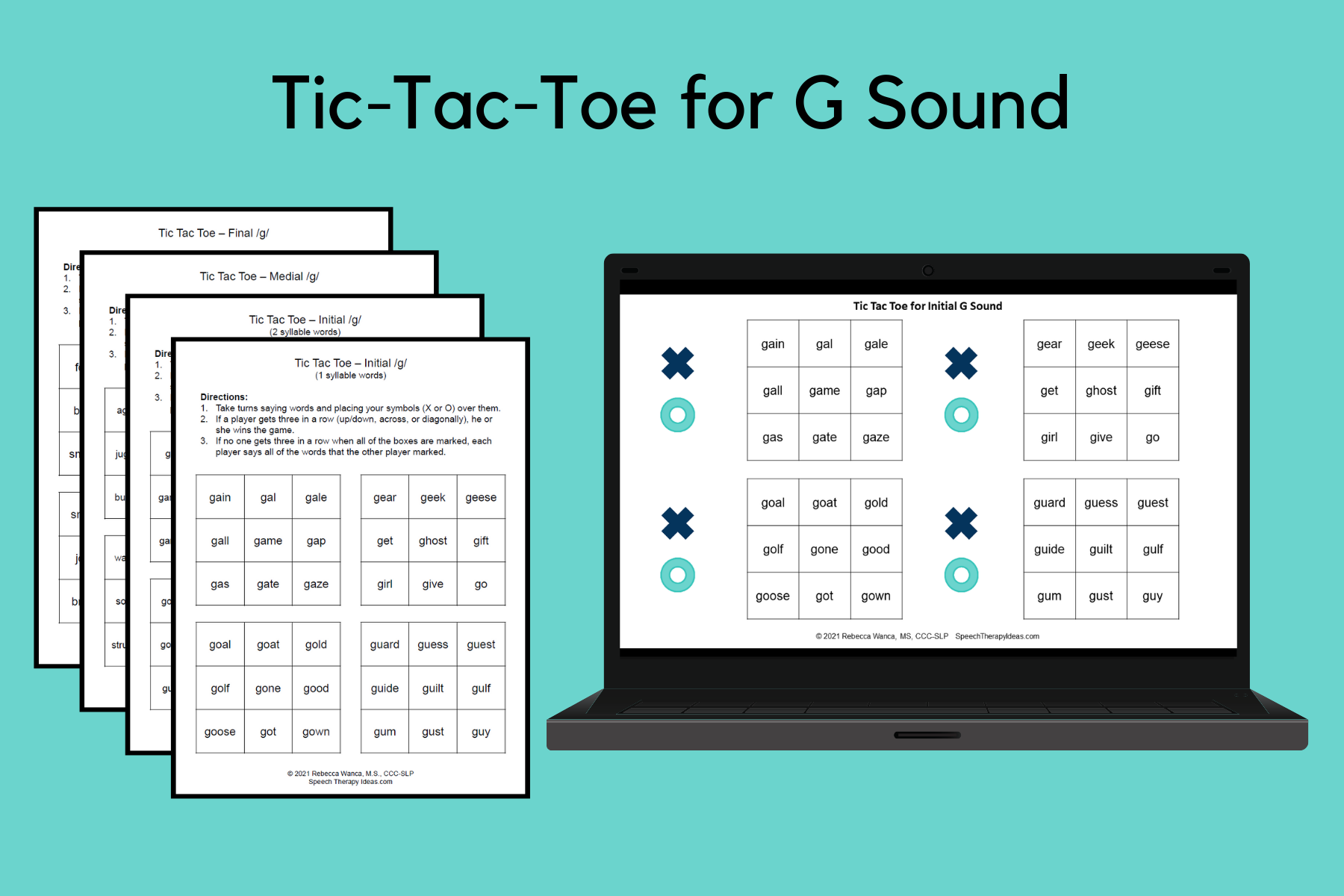 Tic-Tac-Toe Games for G Sound