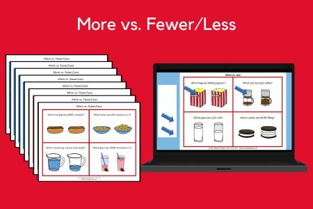More vs. Fewer/Less