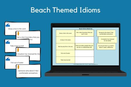 Beach Themed Idioms