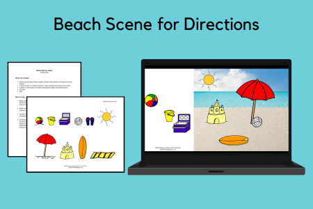 Beach Scene for Directions