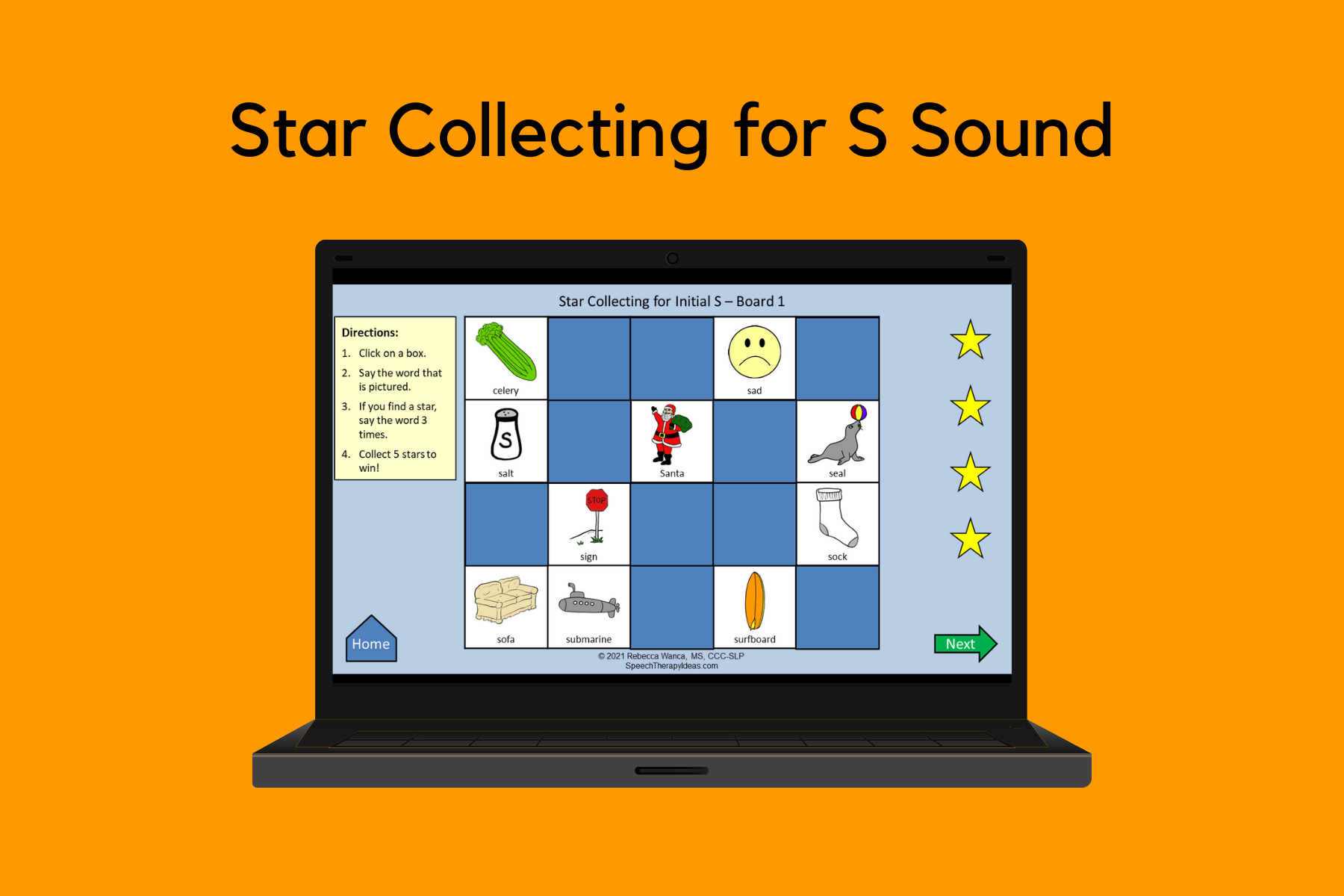 Star Collecting for S Sound