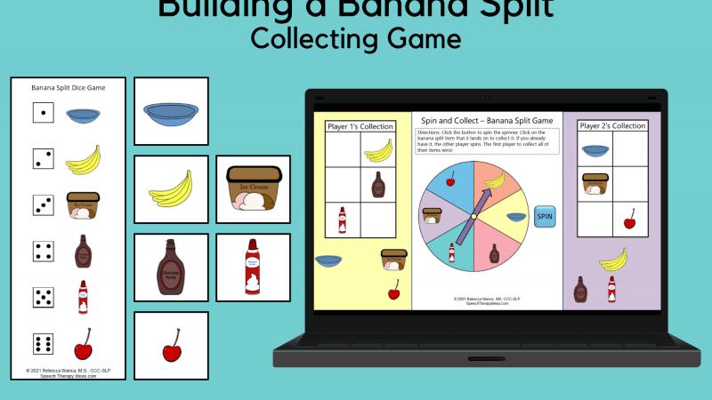 Building A Banana Split Collecting Game