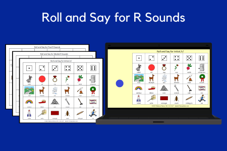 Roll and Say for R Sounds