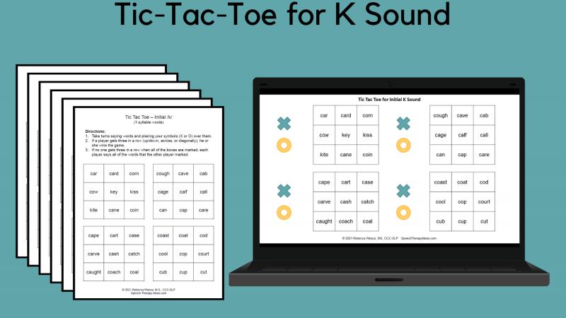 Tic Tac Toe For K Sound