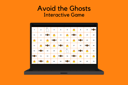 Avoid the Ghosts Interactive Game