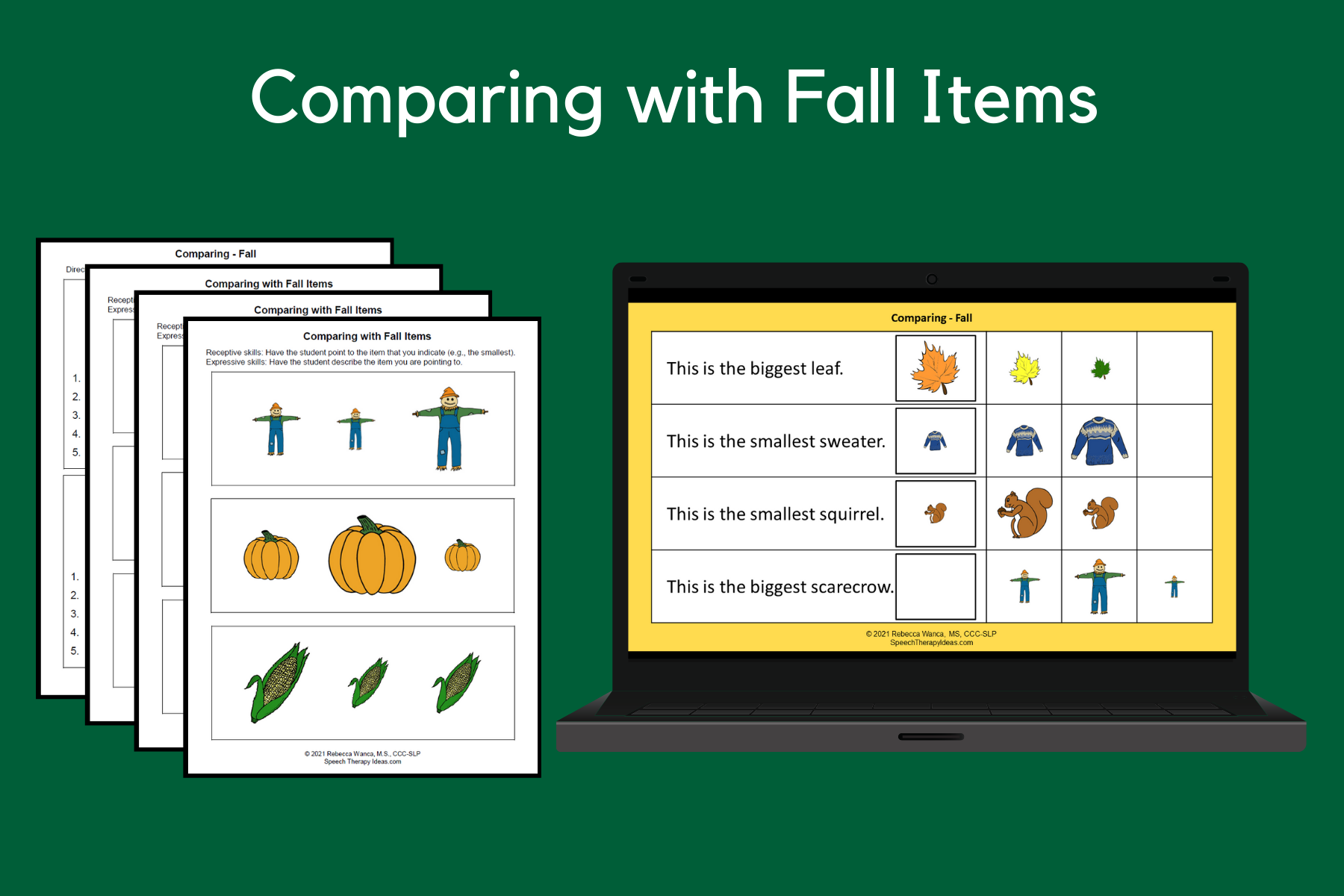 Comparing with Fall Items